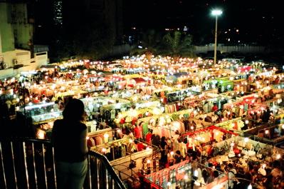 Market lights at Major Ratchayothin