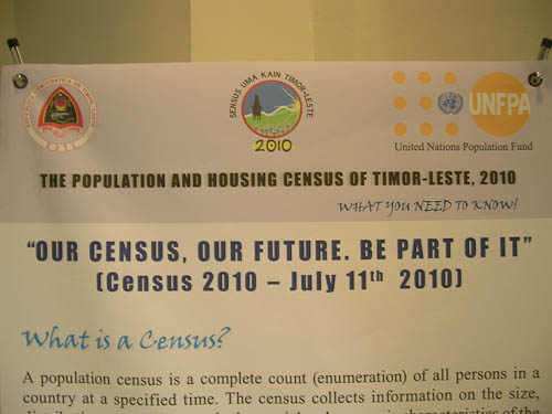 Timor-Leste Census 2010