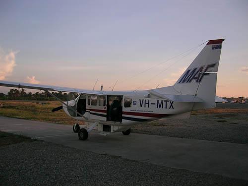 MAF chartered flight